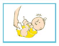赤ちゃんのオムツ交換時等の除菌に。汚れを拭いたおしりに吹きかけ、布でやさしく拭き取ります。
